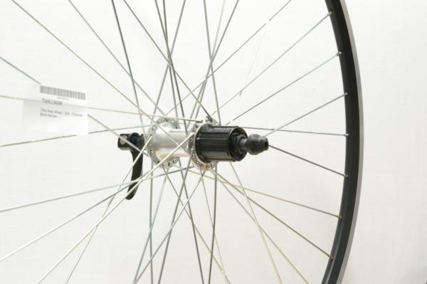 700c Alex Black Rear Wheel 135mm Shimano Cassette Hub Hybrid Bike Quick Release